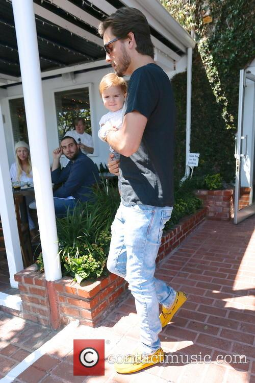 Scott Disick and Penelope Disick 11