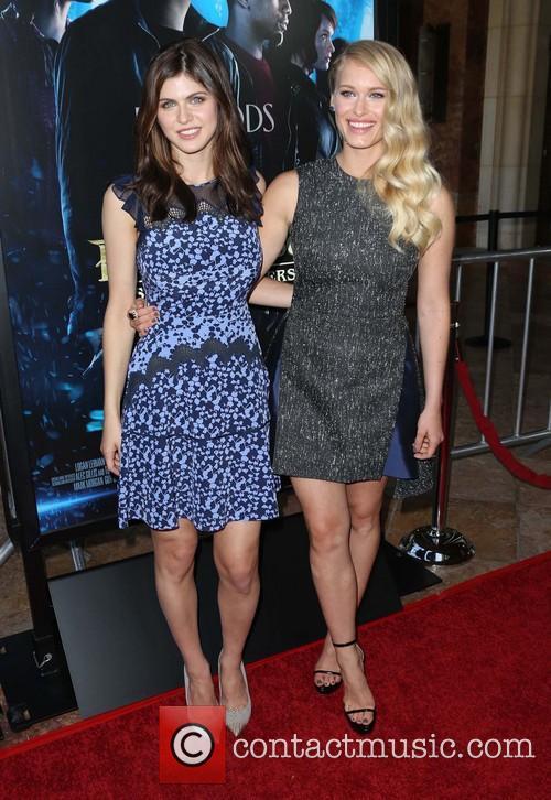Alexandra Daddario and Leven Rambin 3