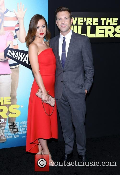 Jason Sudeikis and Olivia Wilde 1