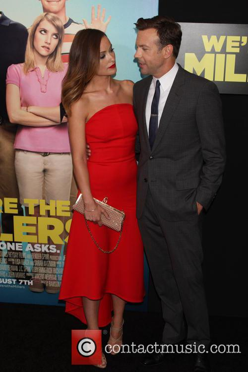 olivia wilde jason sudeikis world premiere of were 3792938