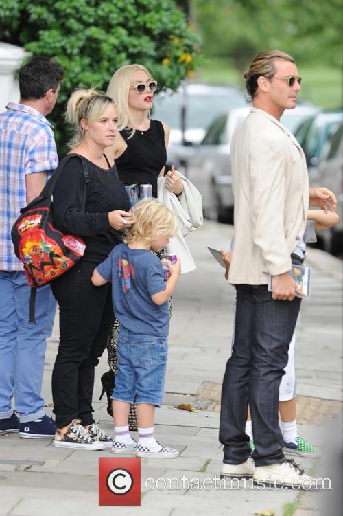Gavin Rossdale, Zuma Rossdale and Gwen Stefani 2