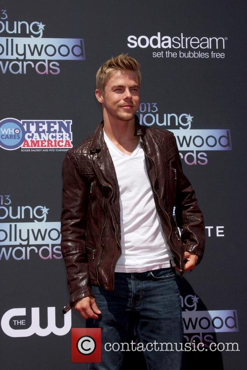 derek hough young hollywood awards 2013 3794674