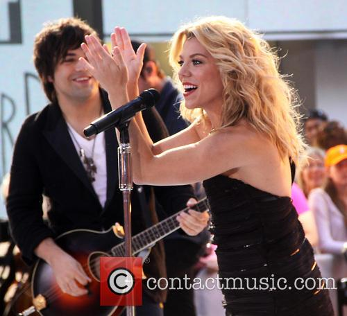 The Band Perry perform on the 'Today' show