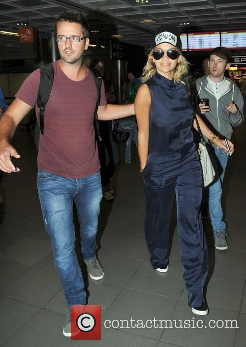 rita ora celebrities arriving at dublin airport 3795734