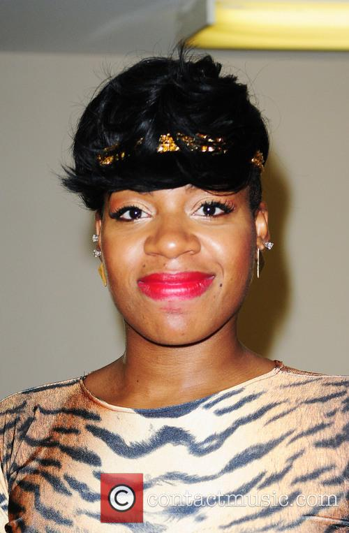 Fantasia backstage after her performance at James L....