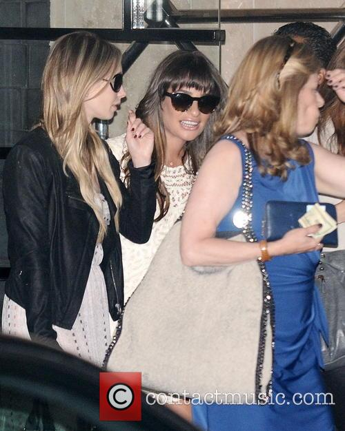 Lea Michele Baby Shower