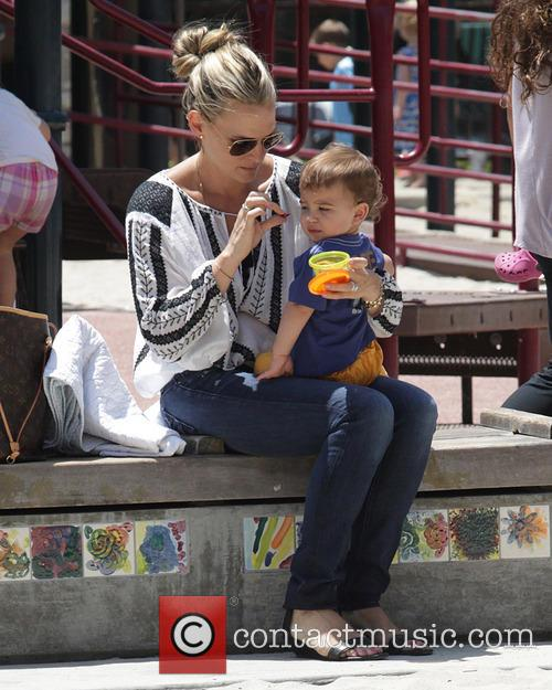 Molly Sims and Brooks Stuber 11