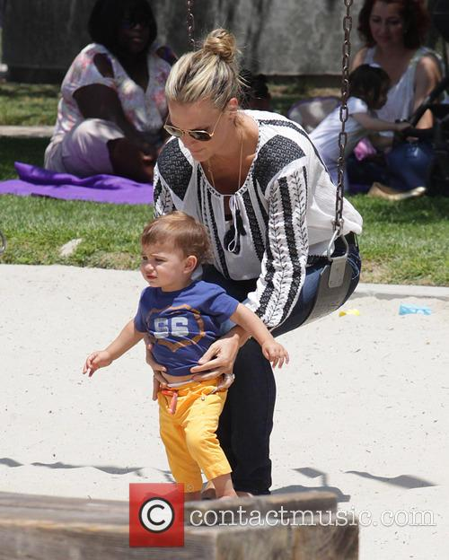 Molly Sims and Brooks Stuber 21