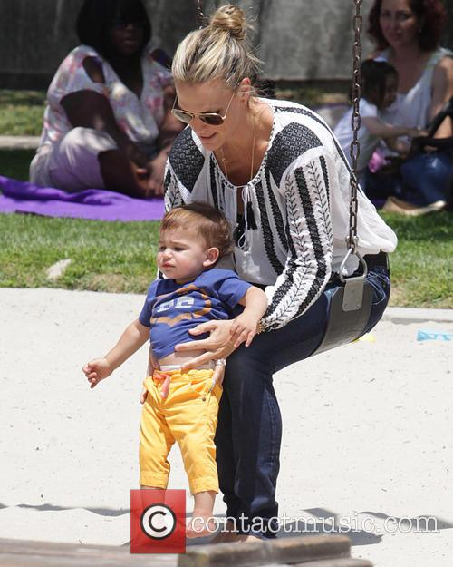 Molly Sims and Brooks Stuber 24