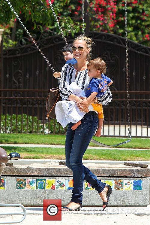 Molly Sims and Brooks Stuber 2