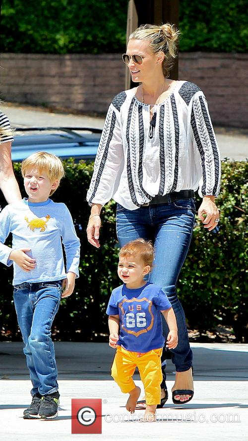 Molly Sims and Brooks Stuber 1
