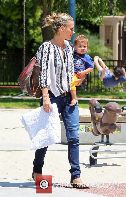 Molly Sims and Brooks Stuber 23