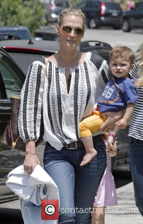 Molly Sims and Brooks Stuber 35