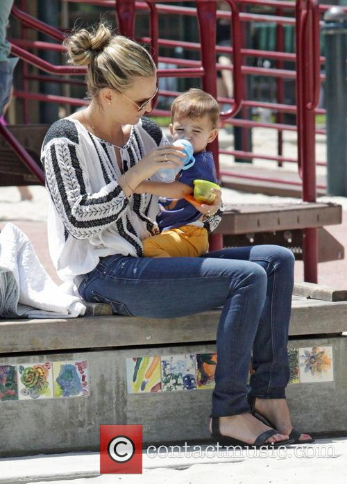 Molly Sims and Brooks Stuber 38