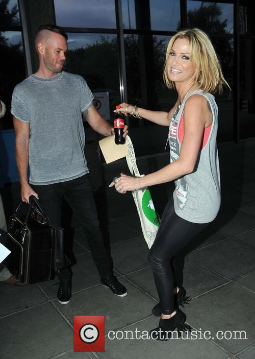Sarah Harding and Mark Foster 9