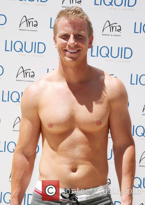 Sean Lowe at Liquid Pool at Aria