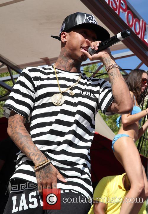 Rapper Tyga performs at 'Ditch Saturdays'