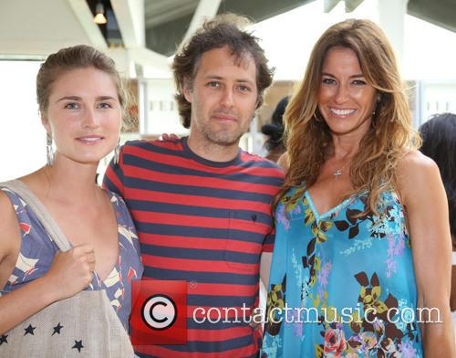 Lauren Bush, David Lauren and Kelly Bensimon