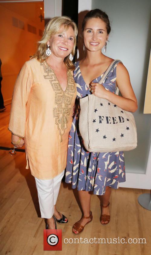 Lauren Bush and Sharon Bush 2