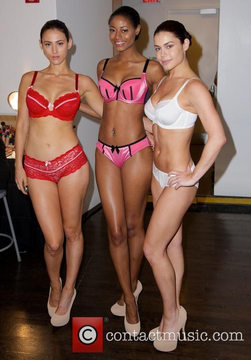 Models for Affinitas and Parfait LingerieFW