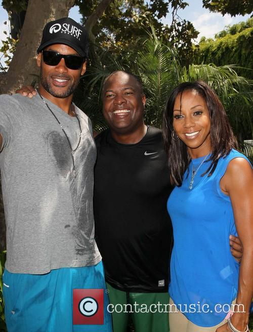 Boris Kodjoe, Rodney Peete and Holly Robinson Peete 4