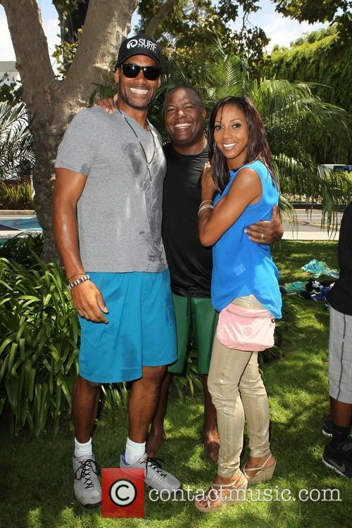 Boris Kodjoe, Rodney Peete and Holly Robinson Peete 10