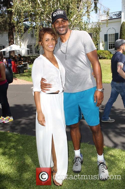 nicole ari parker boris kodjoe hollyrod foundations 4th 3796430