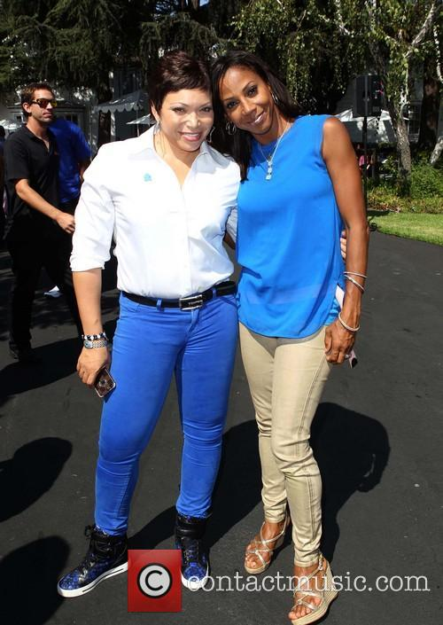 Tisha Campbell-martin and Holly Robinson Peete 1
