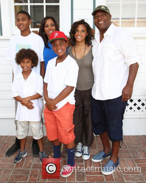 Holly Robinson Peete, Ryan Elizabeth Peete and Rodney Peete 7