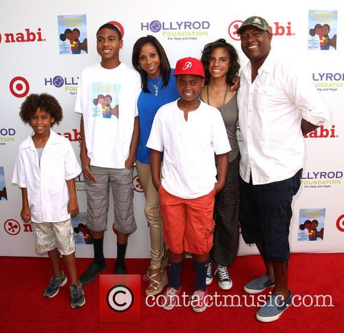 Holly Robinson Peete, Ryan Elizabeth Peete and Rodney Peete 4