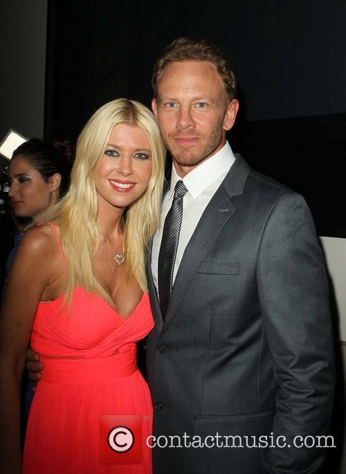 Tara Reid and Ian Ziering 1