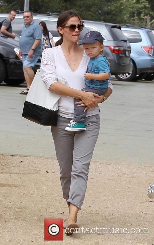 Jennifer Garner and Samuel Affleck 10
