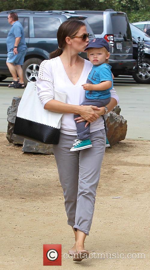 Jennifer Garner and Samuel Affleck 6