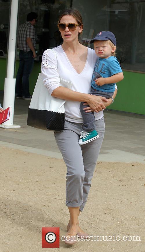Jennifer Garner and Samuel Affleck 8