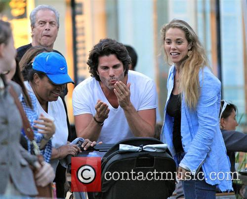 Elizabeth Berkley and Greg Lauren 7