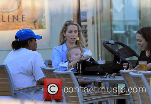 Elizabeth Berkley and Sky Lauren 3