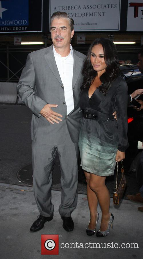 Chris Noth and Tara Wilson 2