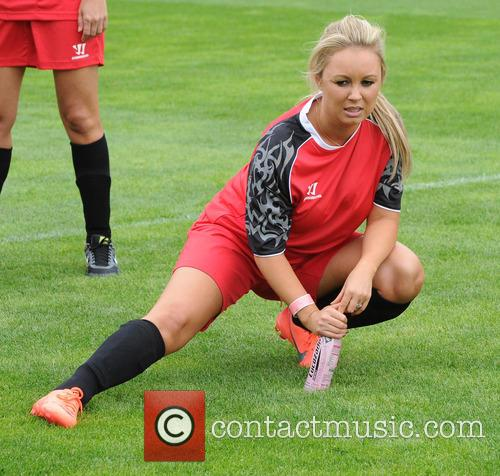 Celebrities take part in the One Goal Foundation...