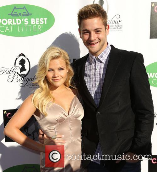 Kitty, Witney Carson and Will Thomas