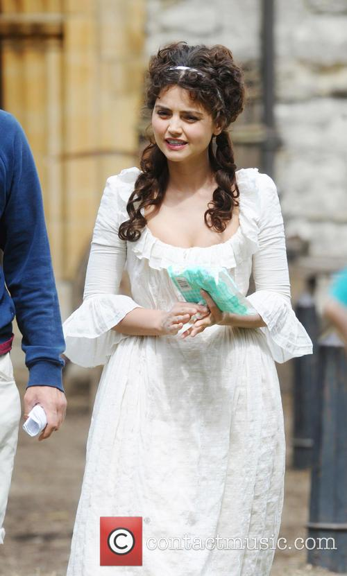 Cast of 'Death Comes to Pemberley' filming in York