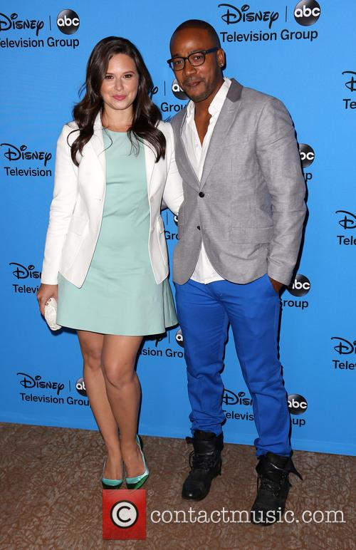 Katie Lowes and Columbus Short 3