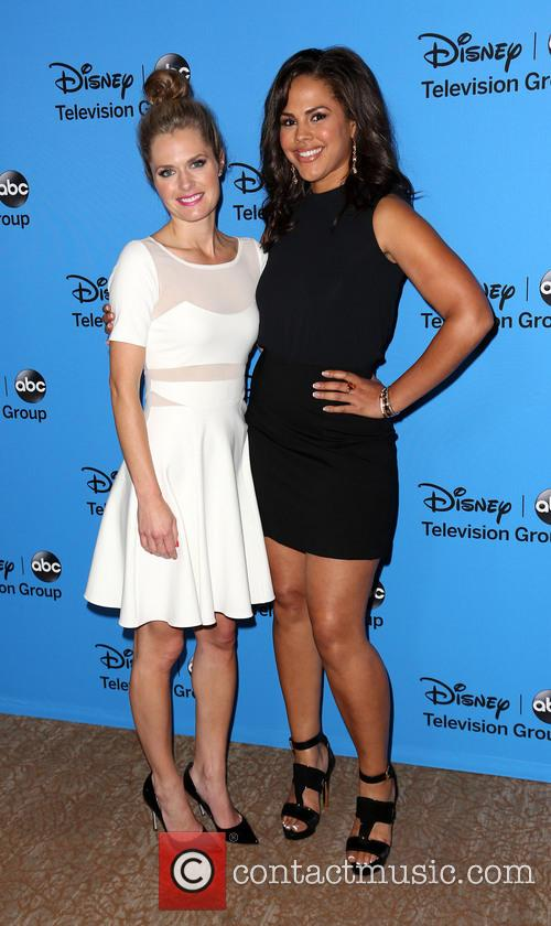 Maggie Lawson and Lenora Crichlow 2
