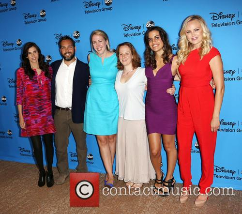 Michaela Watkins, Lee Eisenberg, Sarah Haskins, Emily Halpern, Natalie Morales, Malin Akerman, Beverly Hilton Hotel, Disney