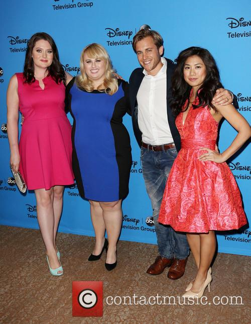 Lauren Ash, Rebel Wilson, Kevin Bishop and Liza Lapira