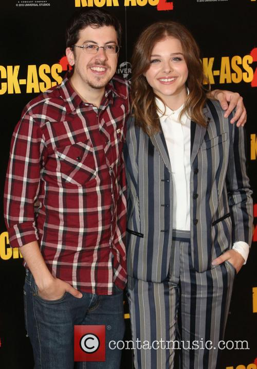 Chloe Moretz and Christopher Mintz-plasse 3