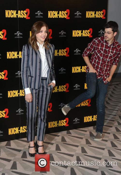 Chloe Moretz and Christopher Mintz-plasse 4