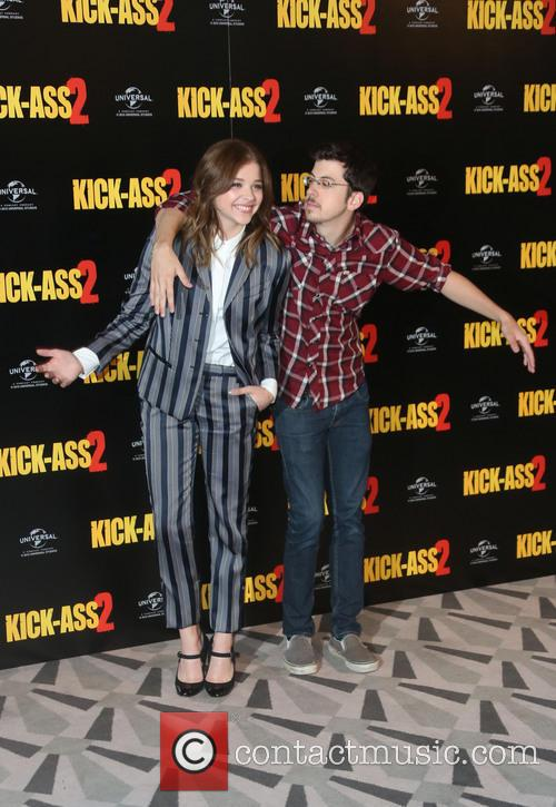 Chloe Moretz and Christopher Mintz-plasse 8