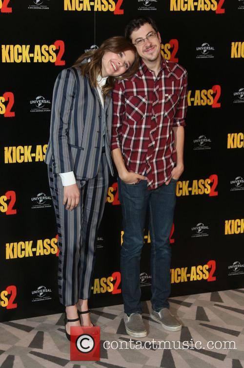 Chloe Moretz and Christopher Mintz-plasse 9