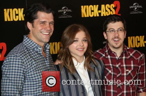 Jeff Wadlow, Chloe Moretz and Christopher Mintz-plasse 3