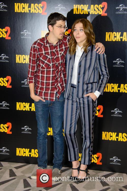 Christopher Mintz Plasse and Chloe Grace Moretz 2